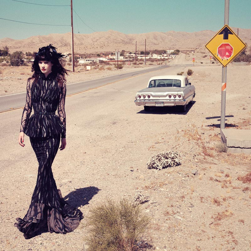 querelle jansen5 Querelle Jansen Takes a Road Trip for Numéro #138 by Sofia and Mauro