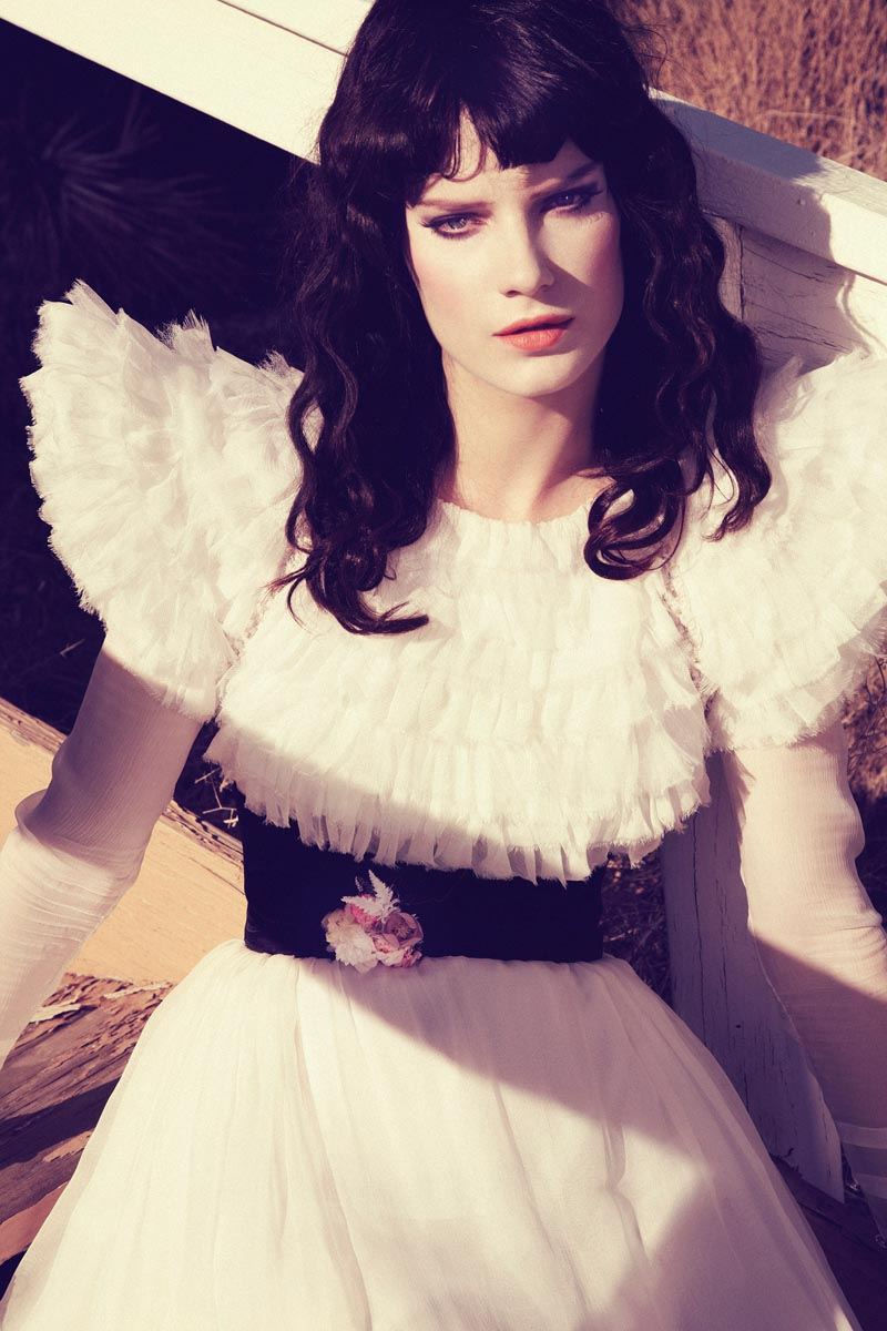 querelle jansen6 Querelle Jansen Takes a Road Trip for Numéro #138 by Sofia and Mauro