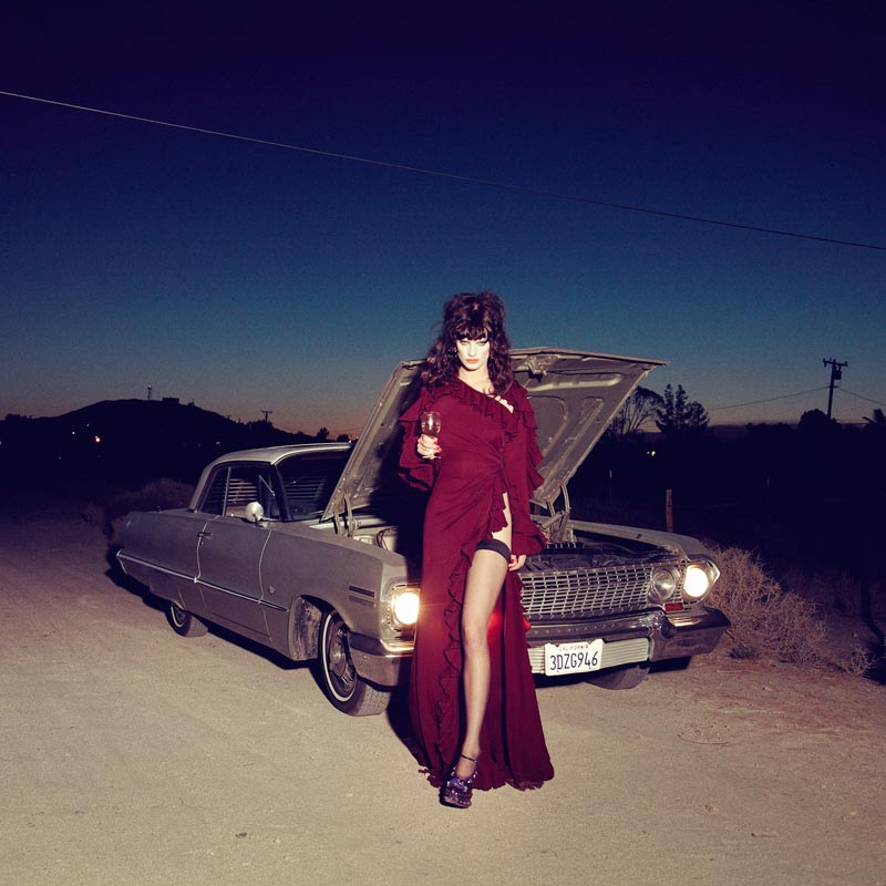 querelle jansen8 Querelle Jansen Takes a Road Trip for Numéro #138 by Sofia and Mauro