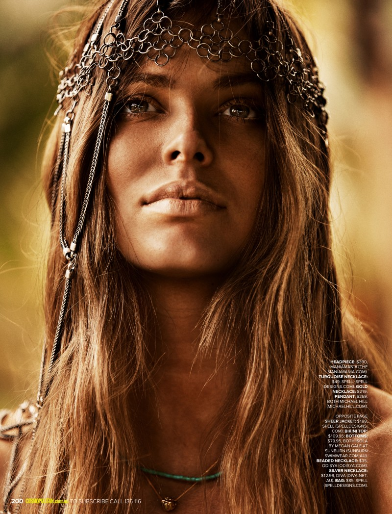 robyn lawley5 Robyn Lawley is a Nature Girl for Cosmopolitan Australia by Steven Chee