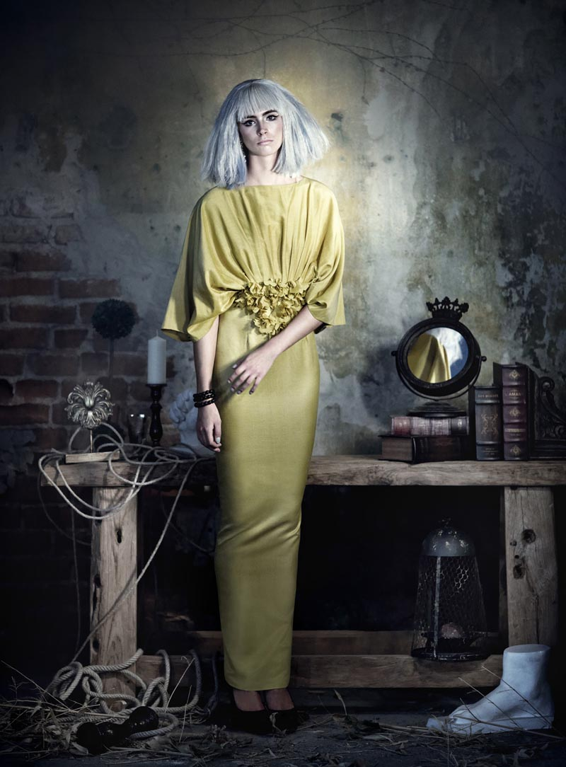 rose11 Koray Parlak Shoots Glamour with Edge for Elele Magazine November 2012