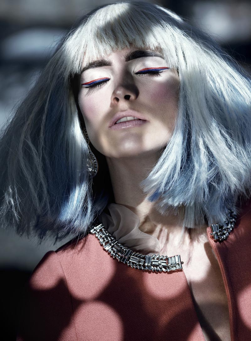 rose6 Koray Parlak Shoots Glamour with Edge for Elele Magazine November 2012