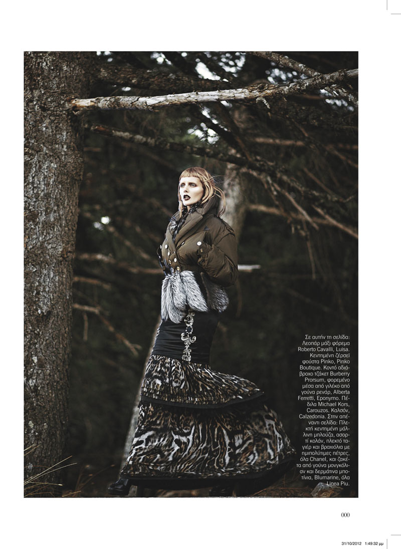 sanne10 Dimitris Skoulos Lenses Enchanting Fall Looks for Vogue Hellas November 2012