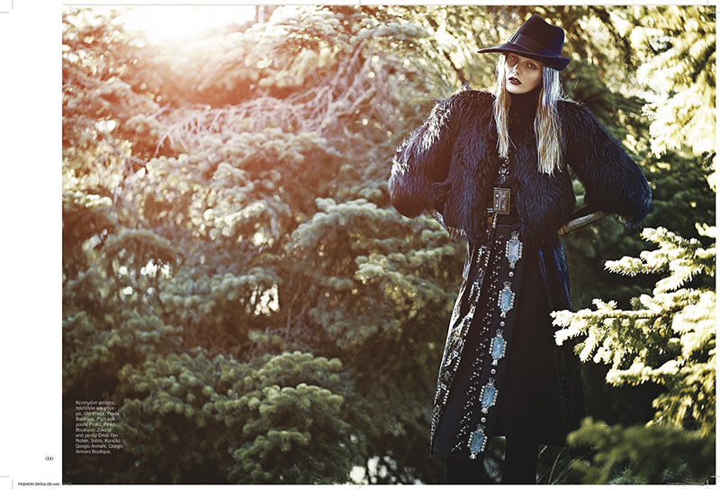 sanne11 Dimitris Skoulos Lenses Enchanting Fall Looks for Vogue Hellas November 2012