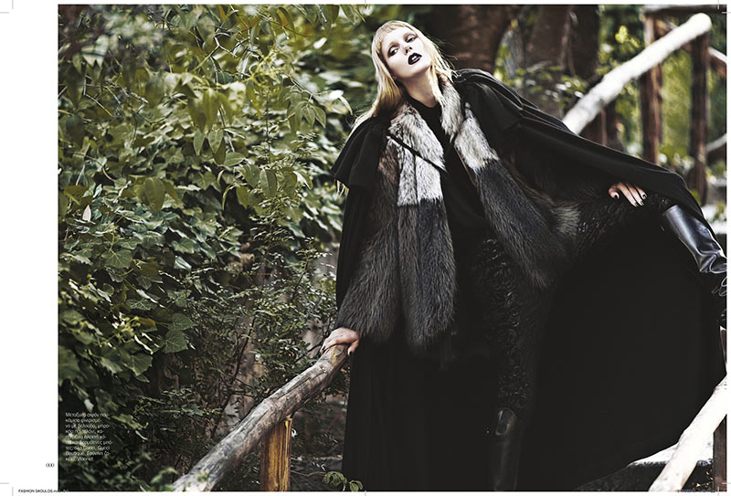sanne5 Dimitris Skoulos Lenses Enchanting Fall Looks for Vogue Hellas November 2012