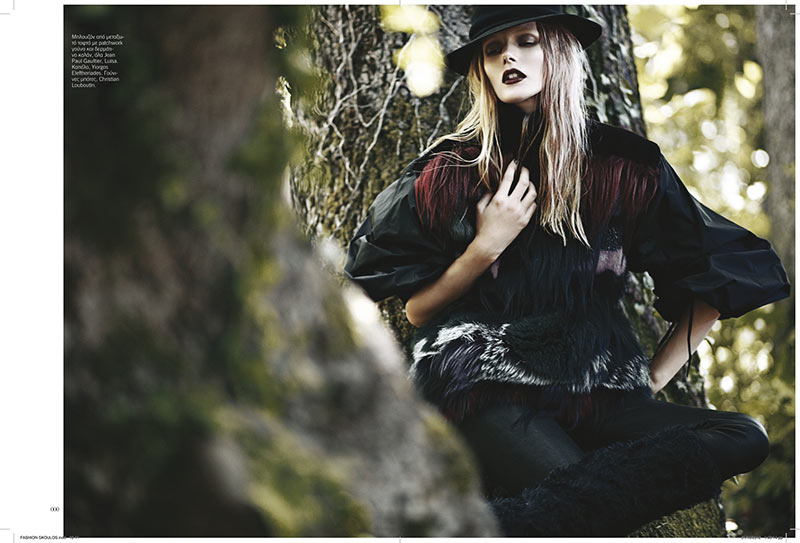 sanne8 Dimitris Skoulos Lenses Enchanting Fall Looks for Vogue Hellas November 2012