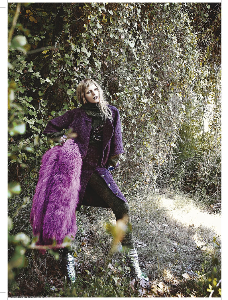 sanne9 Dimitris Skoulos Lenses Enchanting Fall Looks for Vogue Hellas November 2012