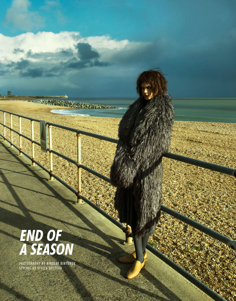 season Lucie von Alten by Nikolay Biryukov in End of a Season for Fashion Gone Rogue