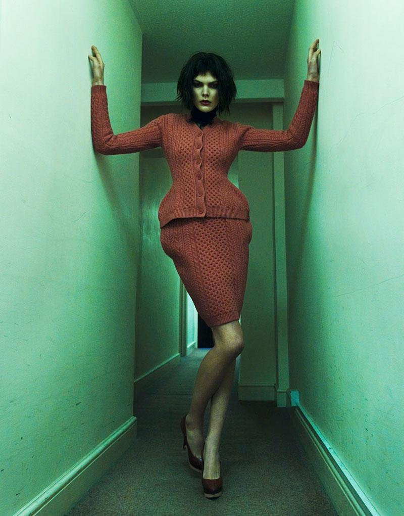 """Lucie von Alten by Nikolay Biryukov in """"End of a Season"""" for Fashion Gone Rogue"""