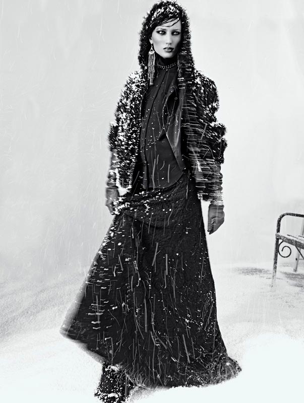 snow10 Igor Oussenko Captures Snow Covered Looks for Stolnick Magazine