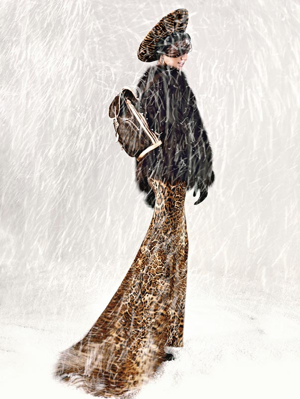 snow3 Igor Oussenko Captures Snow Covered Looks for Stolnick Magazine
