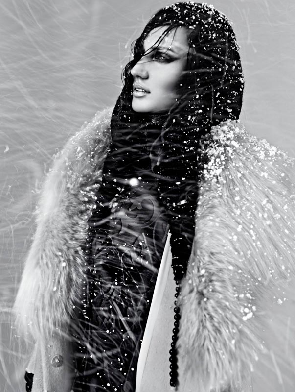 snow4 Igor Oussenko Captures Snow Covered Looks for Stolnick Magazine