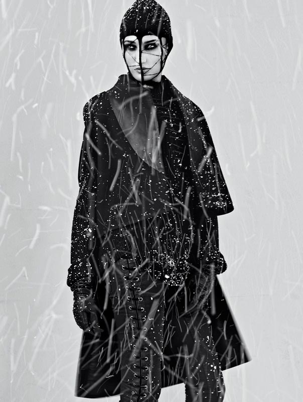 snow6 Igor Oussenko Captures Snow Covered Looks for Stolnick Magazine