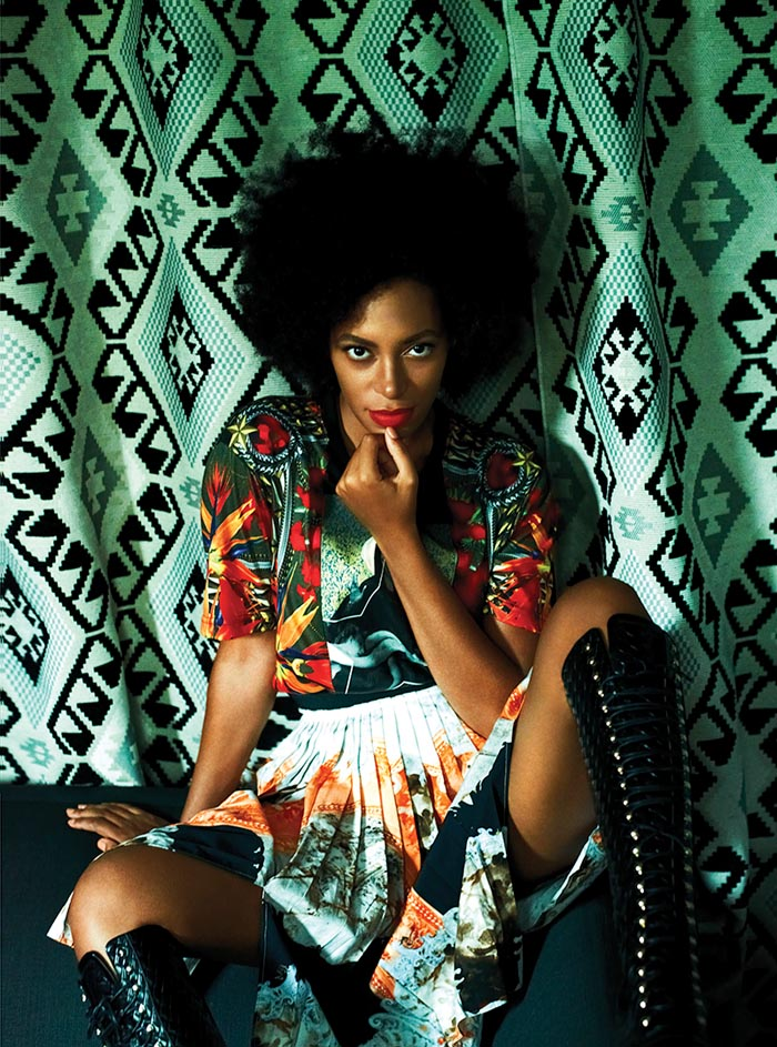 solange1 Elle Muliarchyk Shoots Solange Knowles for Rika Magazine