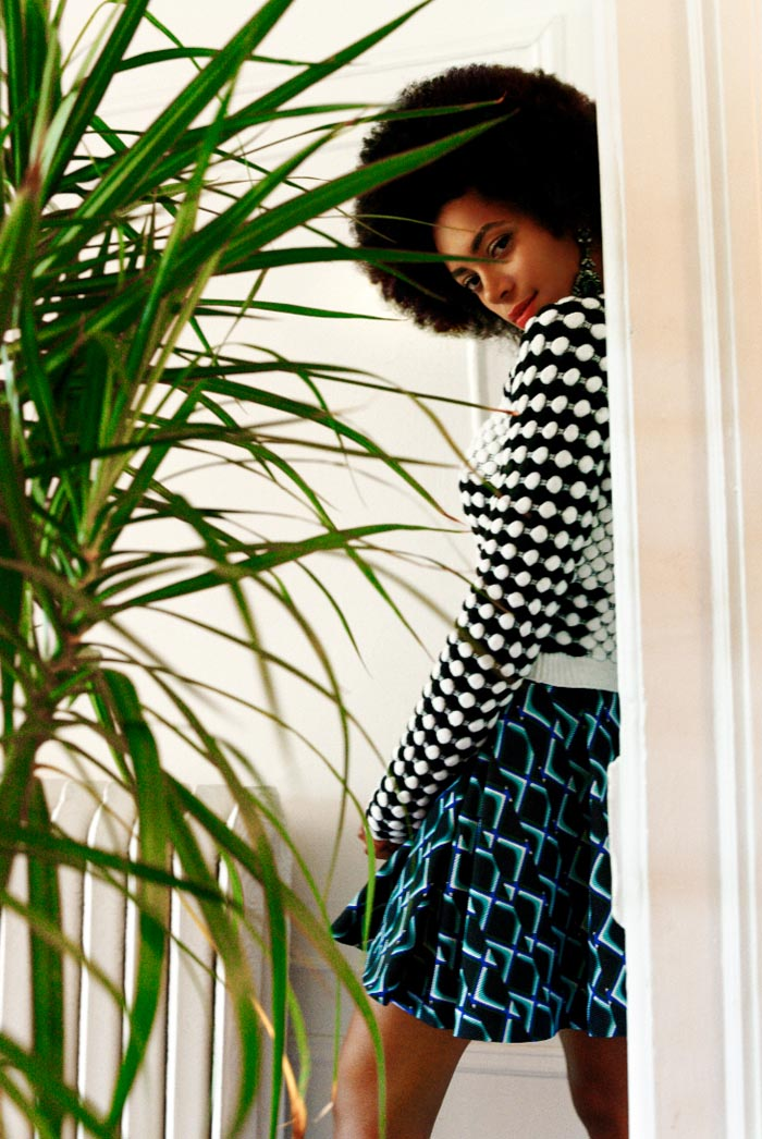 Elle Muliarchyk Shoots Solange Knowles for Rika Magazine