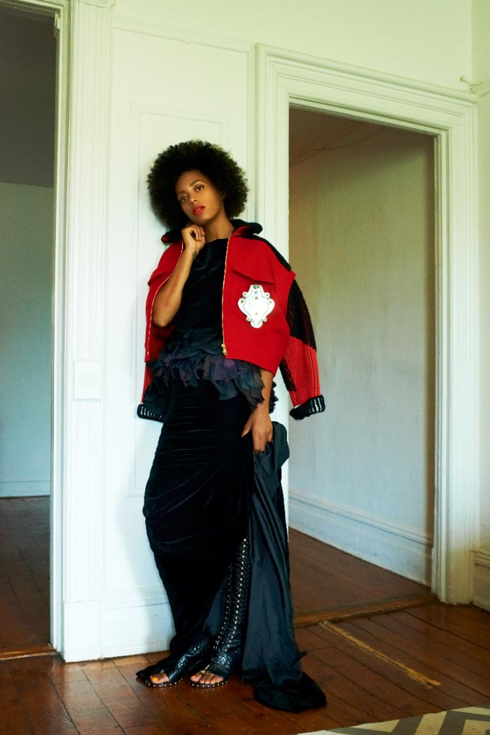 solange6 Elle Muliarchyk Shoots Solange Knowles for Rika Magazine
