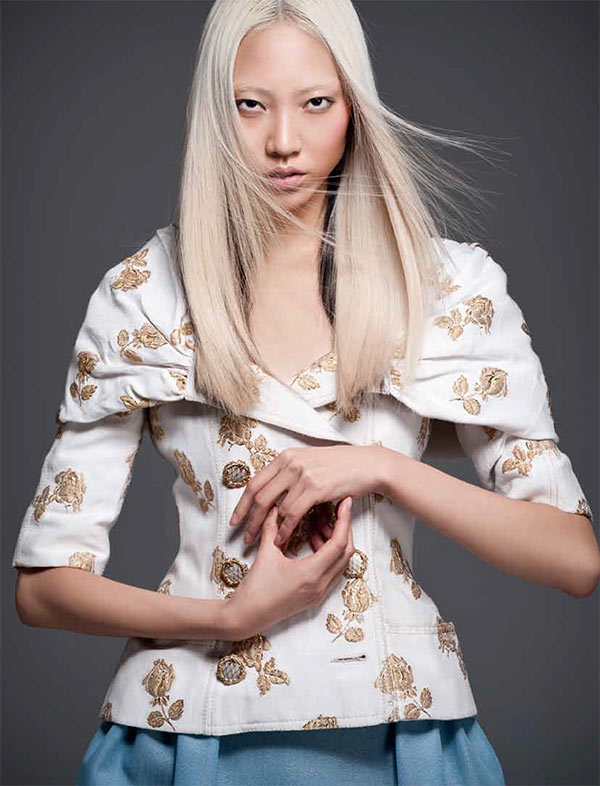 soo joo11 Soo Joo Dons Chanel for PPaper Fashions November Cover Shoot, Lensed by Sy Delorme