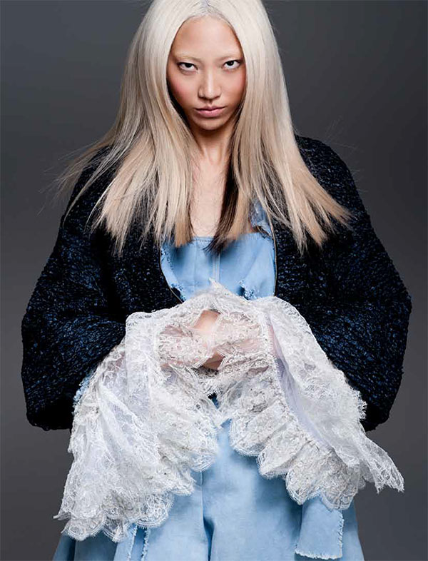 Soo Joo Dons Chanel for PPaper Fashion's November Cover Shoot, Lensed by Sy Delorme