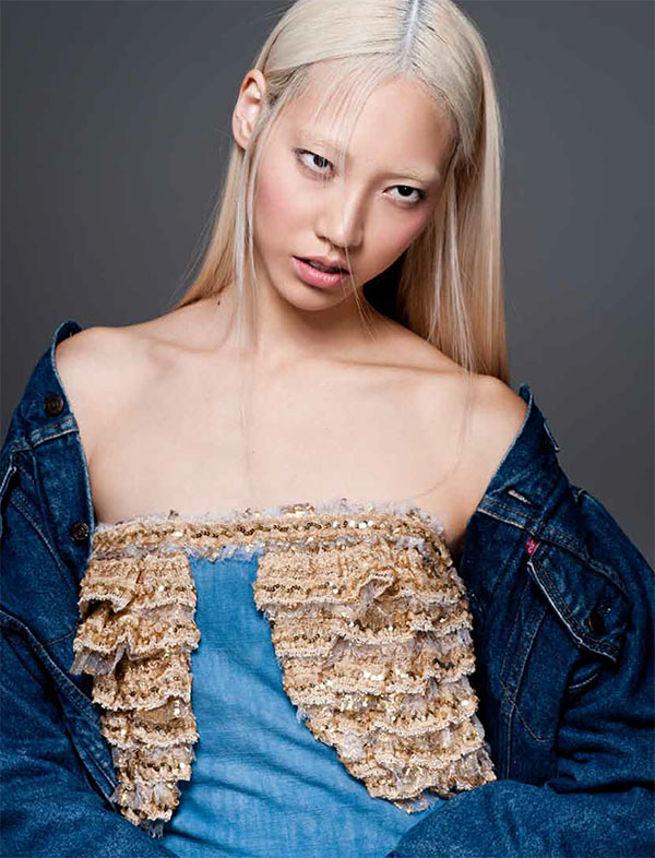 soo joo6 Soo Joo Dons Chanel for PPaper Fashions November Cover Shoot, Lensed by Sy Delorme
