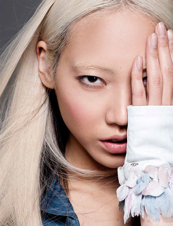 soo joo9 Soo Joo Dons Chanel for PPaper Fashions November Cover Shoot, Lensed by Sy Delorme