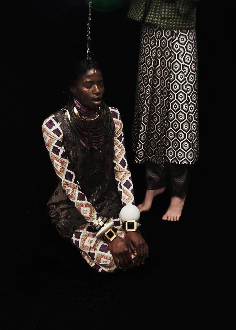 suzie leo11 Suzie Q + Leo Siboni Lens Emilia Nawarecka and Awa Ceesay for Under the Influence A/W 2012