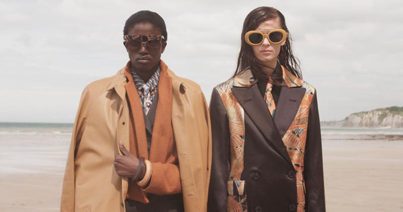 suzie leo8 Suzie Q + Leo Siboni Lens Emilia Nawarecka and Awa Ceesay for Under the Influence A/W 2012
