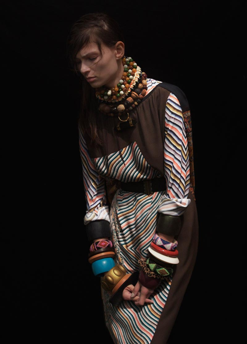 suzie leo9 Suzie Q + Leo Siboni Lens Emilia Nawarecka and Awa Ceesay for Under the Influence A/W 2012