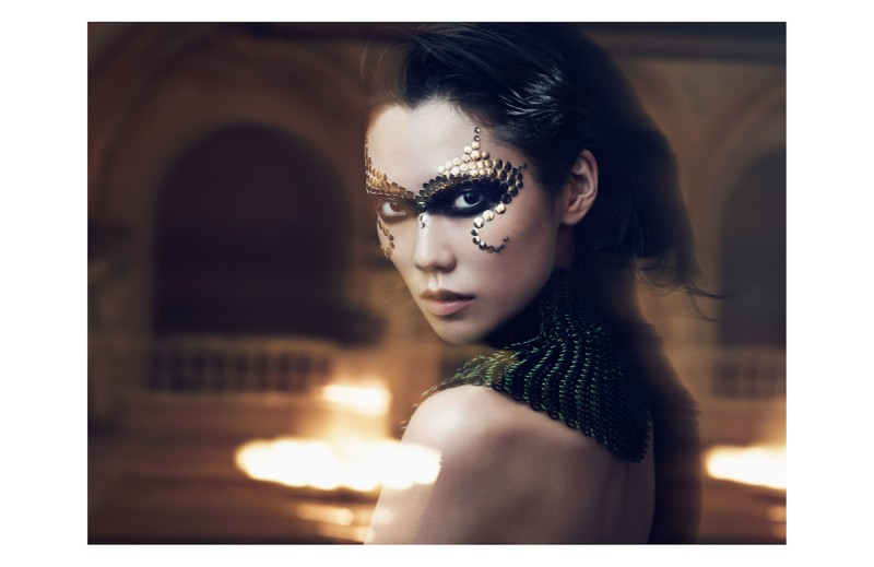 tao beauty4 Tao Okamoto Poses for Lachlan Bailey in Vogue Chinas December Issue