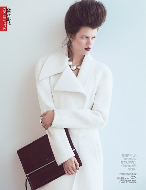 yee china6 Ming Xi and Antonia Wesseloh Sport Power Dressing for Vogue China November 2012 by Andrew Yee