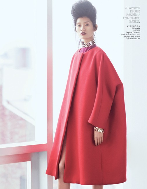 yee china9 Ming Xi and Antonia Wesseloh Sport Power Dressing for Vogue China November 2012 by Andrew Yee