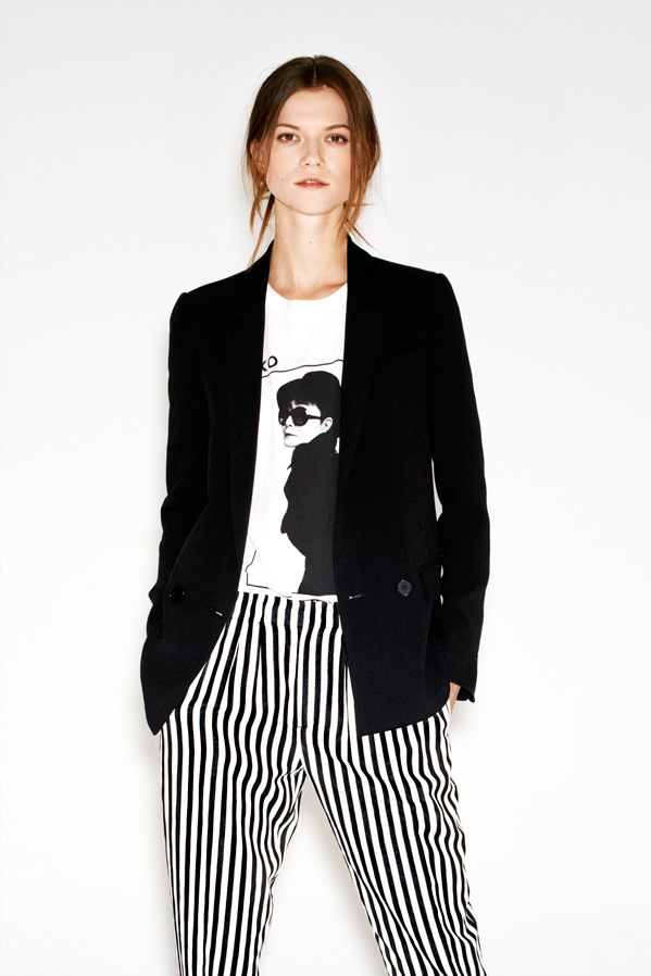 zara18 Kasia Struss Models Zaras December 2012 Lookbook