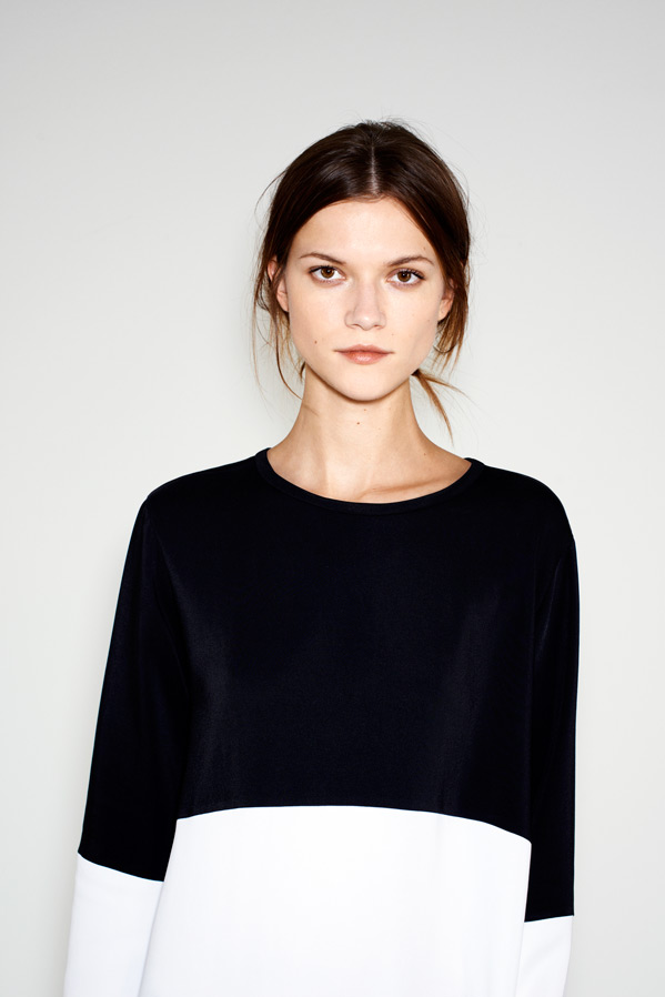 zara7 Kasia Struss Models Zaras December 2012 Lookbook