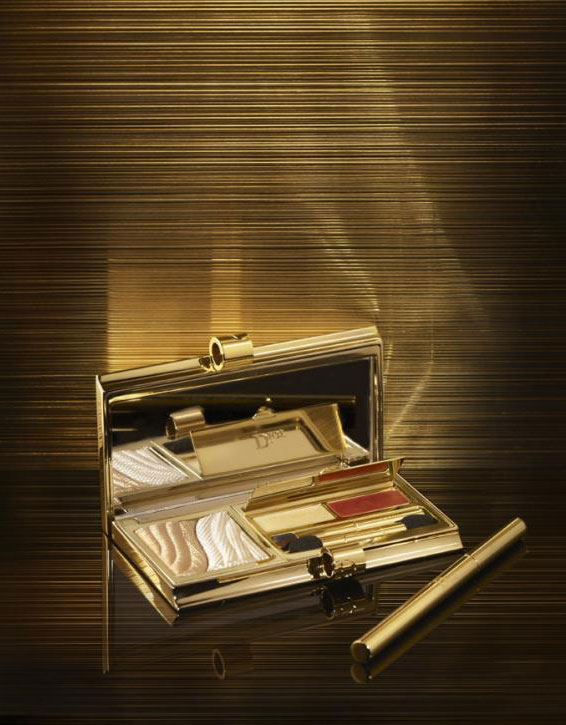 2 full visio Daria Strokous for Dior Grand Bal Christmas Makeup Collection 2012