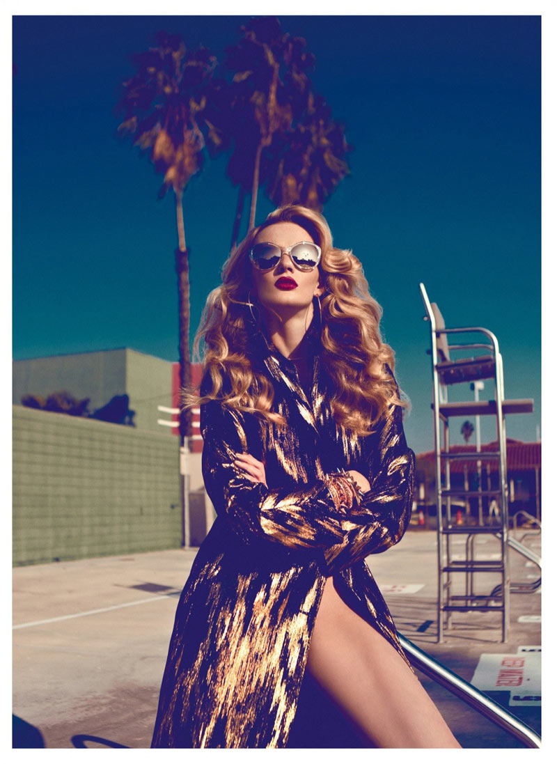 Anne Vyalitsyna Stuns in Harper's Bazaar Turkey's January 2013 Cover Shoot by Koray Birand