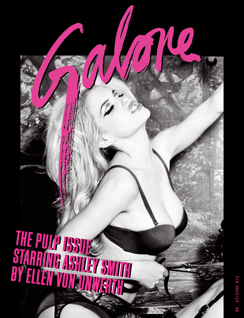 AshleyGalore12 Ashley Smith is Fetish Chic for Galore Magazine #1 by Ellen von Unwerth