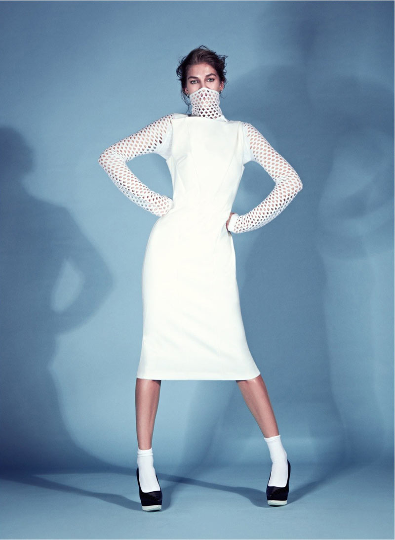 BirandTurkey4 Samantha Gradoville Poses for Koray Birand in Harpers Bazaar Turkey January 2013