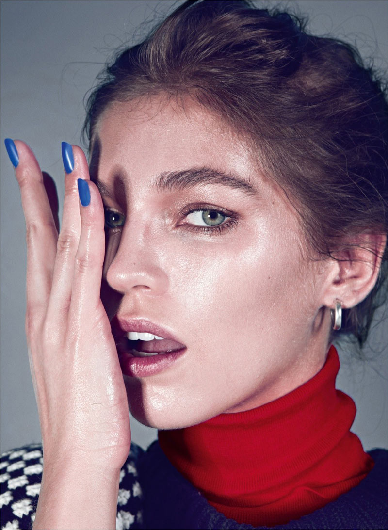 BirandTurkey7 Samantha Gradoville Poses for Koray Birand in Harpers Bazaar Turkey January 2013