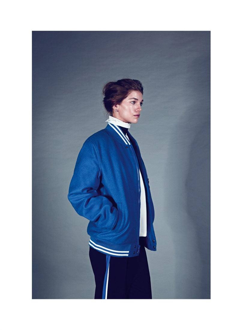 Samantha Gradoville Poses for Koray Birand in Harper's Bazaar Turkey January 2013