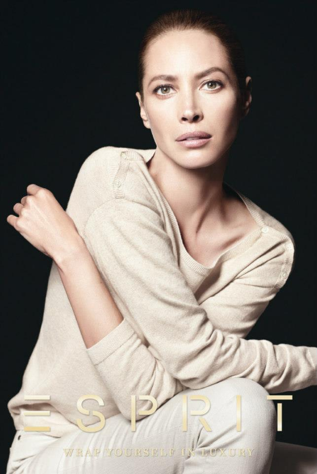 ChristyEsprit1 Christy Turlington Stars in Esprit Holiday 2012 Campaign by David Sims