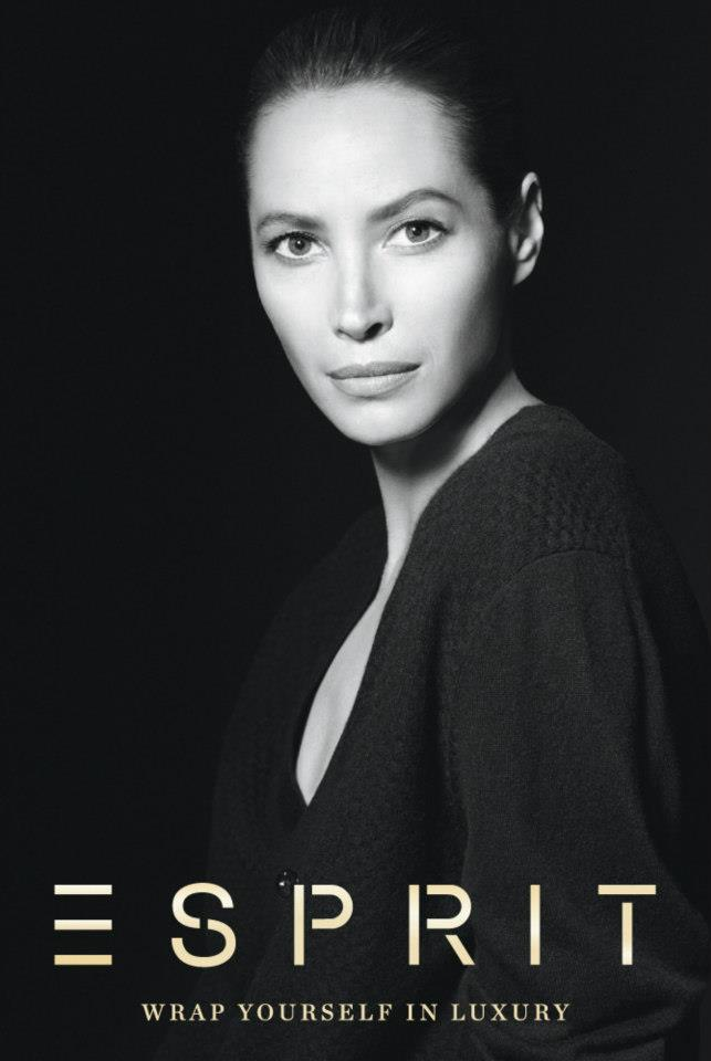 ChristyEsprit2 Christy Turlington Stars in Esprit Holiday 2012 Campaign by David Sims