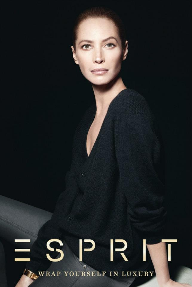 ChristyEsprit3 Christy Turlington Stars in Esprit Holiday 2012 Campaign by David Sims