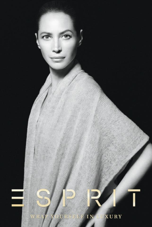 ChristyEsprit4 Christy Turlington Stars in Esprit Holiday 2012 Campaign by David Sims