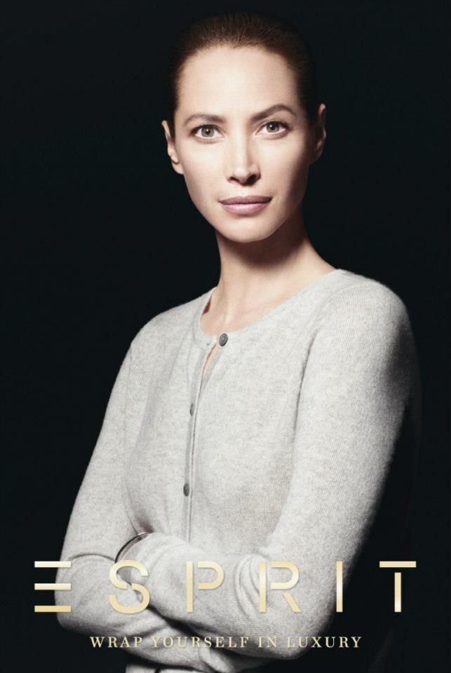 ChristyEsprit5 Christy Turlington Stars in Esprit Holiday 2012 Campaign by David Sims