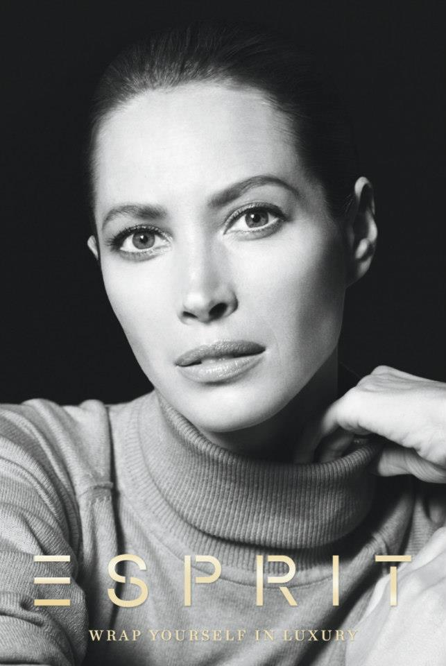 ChristyEsprit6 Christy Turlington Stars in Esprit Holiday 2012 Campaign by David Sims
