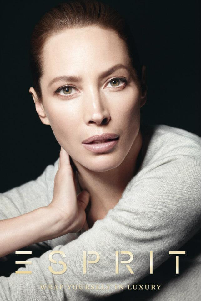 ChristyEsprit7 Christy Turlington Stars in Esprit Holiday 2012 Campaign by David Sims