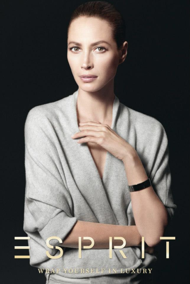 ChristyEsprit8 Christy Turlington Stars in Esprit Holiday 2012 Campaign by David Sims