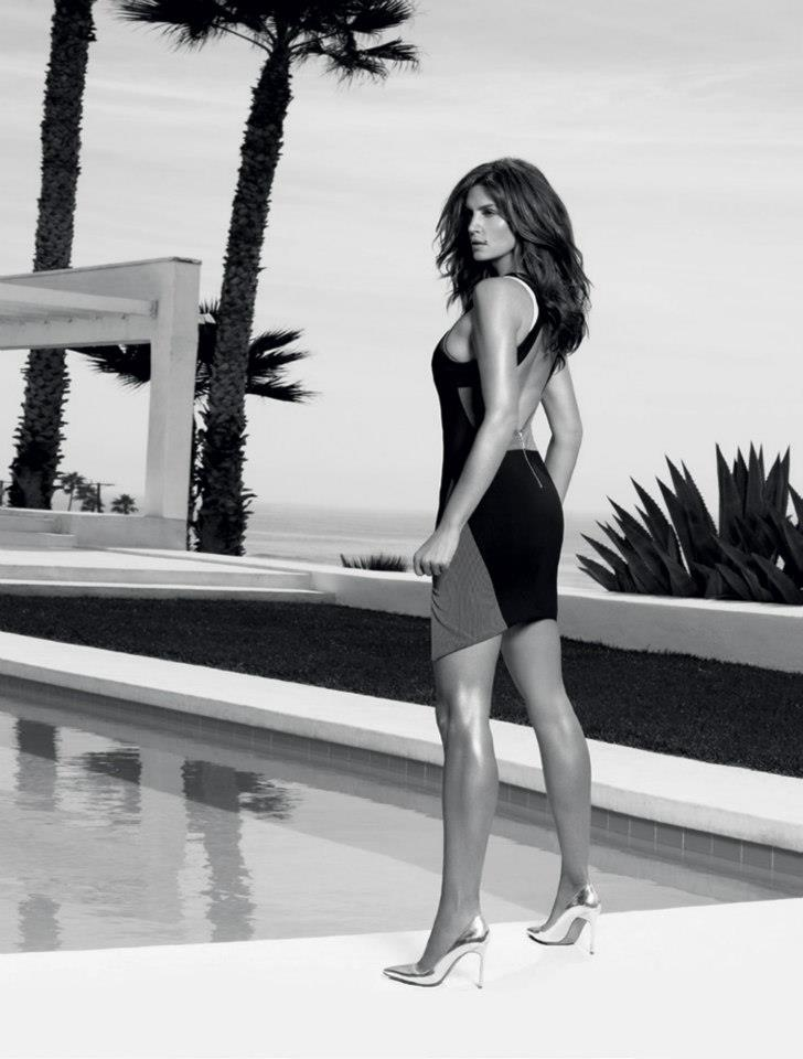 Cindy Crawford is Super Glam for Madison Magazine's December Cover Shoot by Simon Upton