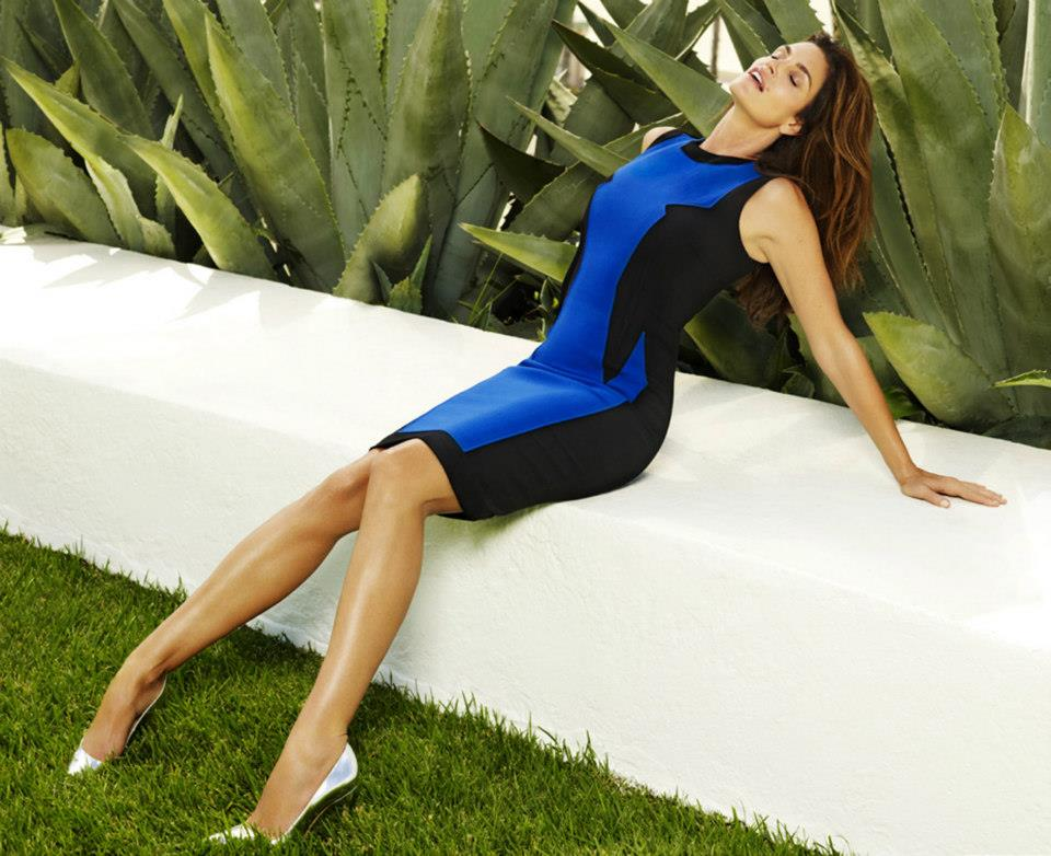 CindyMadison4 Cindy Crawford is Super Glam for Madison Magazines December Cover Shoot by Simon Upton
