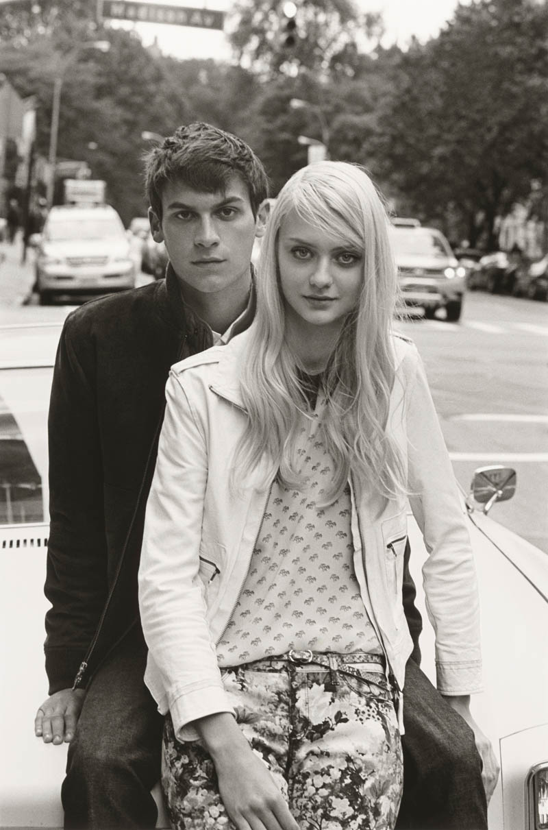 ClubMonaco10 Nastya Kusakina Hits the New York City Streets for Club Monacos Spring 2013 Campaign