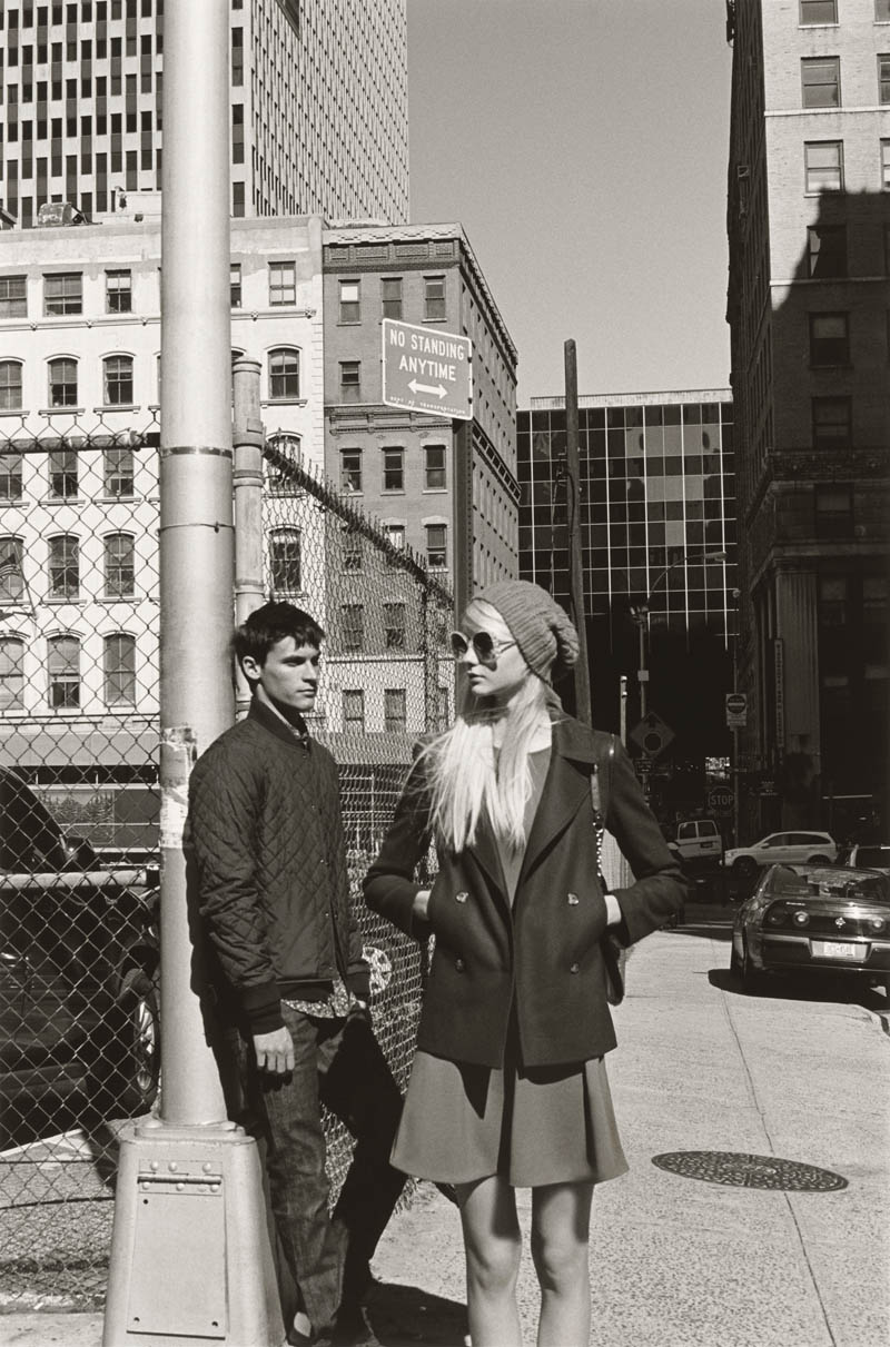 ClubMonaco11 Nastya Kusakina Hits the New York City Streets for Club Monacos Spring 2013 Campaign
